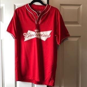 Tops - Budweiser Baseball Jersey